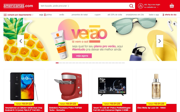 Americanas online market