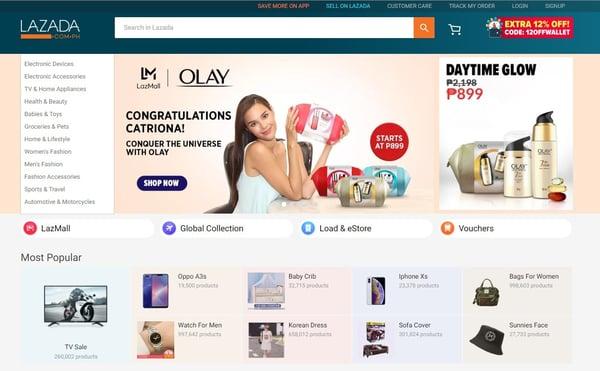 Lazda online marketplace