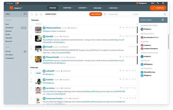 Social Media Management for agencies