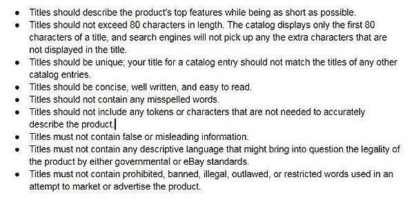 ebay title guidelines