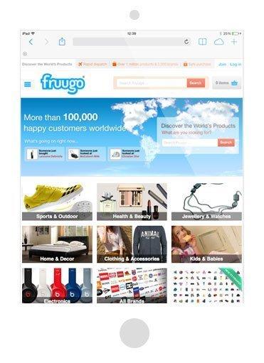 European online marketplace Fruugo