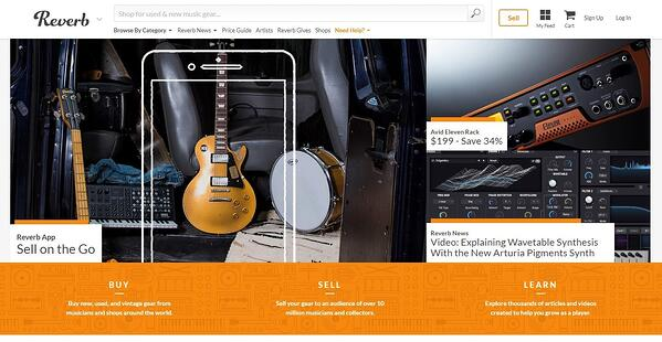 reverb African leading marketplace